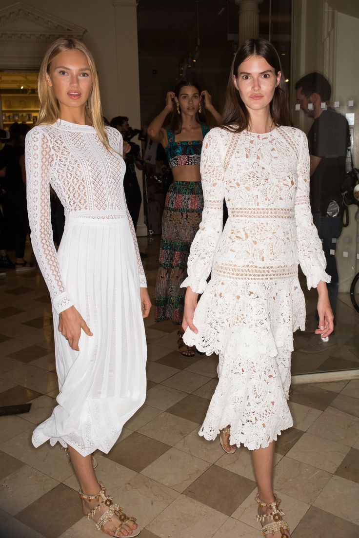 Oscar de la Renta Spring 2017 Ready-to-Wear Fashion Show Beauty