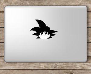 Goku Hair Dragonball - Apple Macbook Laptop Vinyl Sticker Decal | eBay