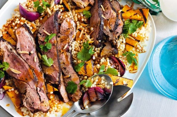 This butterflied lamb is a perfect recipe for a summer barbecue.