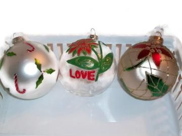 Large Christmas Ornaments by shelly6262 for $10.95