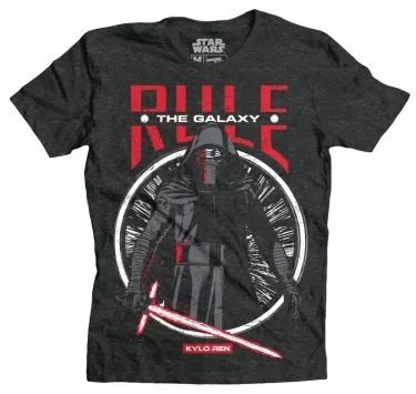 playera rule the galaxy mascara de latex star wars