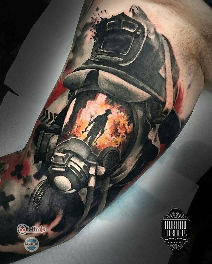 121 best smokin 39 ink images on pinterest firefighter tattoos firefighters and fireman tattoo. Black Bedroom Furniture Sets. Home Design Ideas
