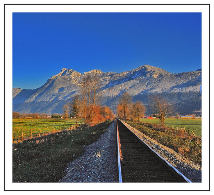 On The Rails - Chilliwack Area, British Columbia