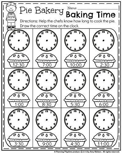 17 Best ideas about Teaching Time on Pinterest | Telling time ...