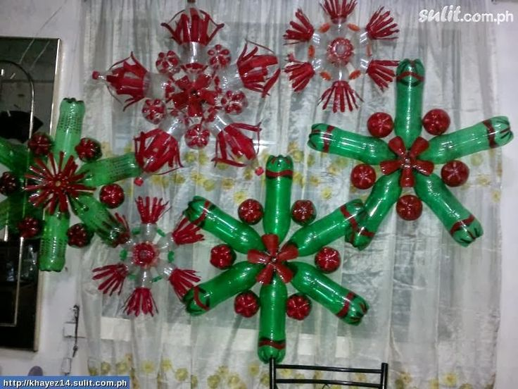 Image For Recycled Bottle Wreath Google Search