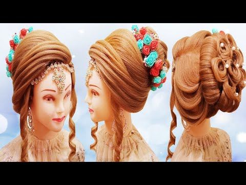 Bridal Juda Hairstyles L Bun Hairstyle L Front Layer Puff Hairstyles 2020 L Kashee S Hairstyles 2020 Youtube In 2020 Hair Puff Hair Styles Bun Hairstyles