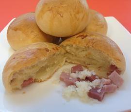 Ricetta Panini al latte ripieni pubblicata da Team Bimby - Questa ricetta è nella categoria Prodotti da forno salati