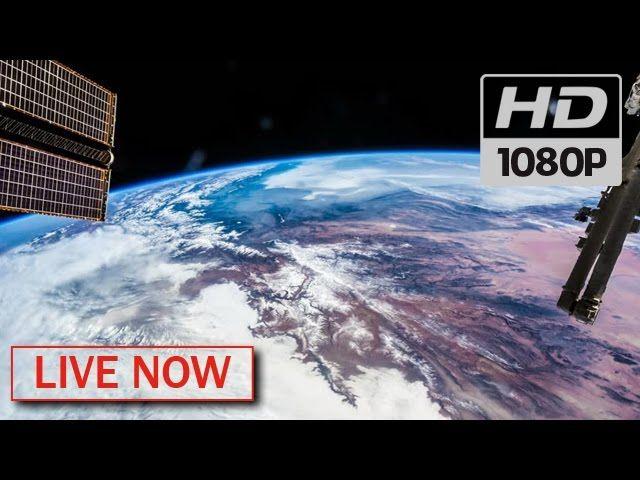 Assista agora a Terra vista do espaço – AO VIVO