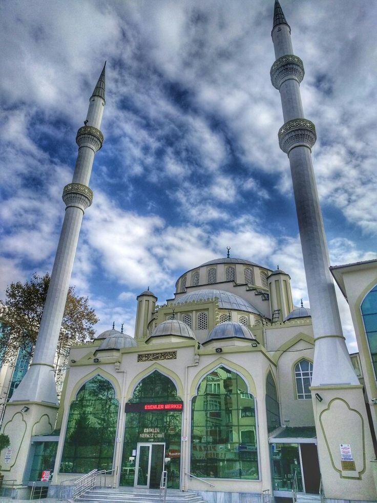Esenler Merkez Camii İstanbul Türkiye