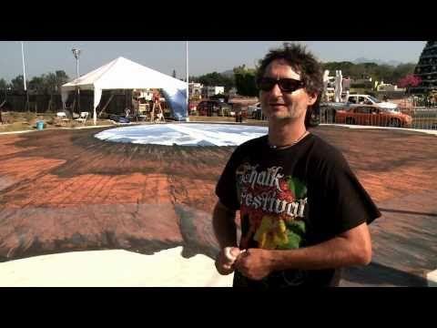 The Making Of Edgar Mueller's 3D Street Painting 'WHERE DO I GO' - (4 minutes)
