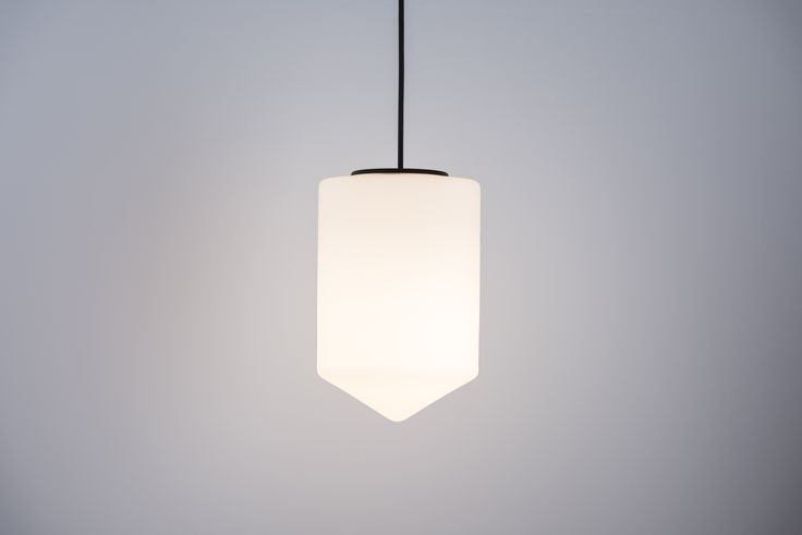 BULLET Suspension Lamp by Benjamin Hopf. Glass, handmade. Also available as a Floorlamp. www.formagenda.com
