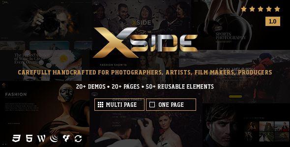 XSide - Responsive Photography Theme (Photography) - http://creativewordpresstheme.com/xside-responsive-photography-theme-photography/