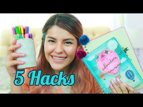 TIPS REGRESO A CLASES + DIY | MUSAS LOS POLINESIOS - YouTube