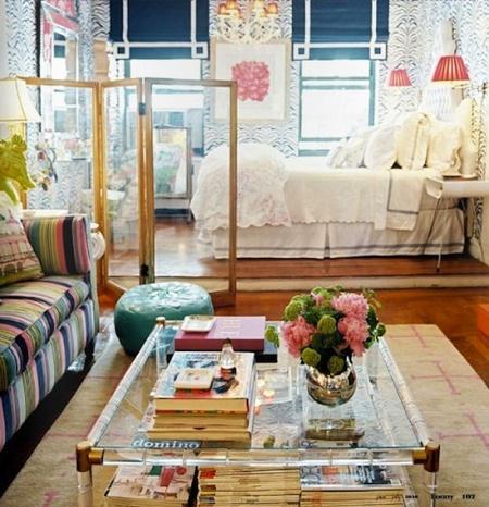 Boho chic via the aestate cute studio apartment idea - Deco style boheme chic ...