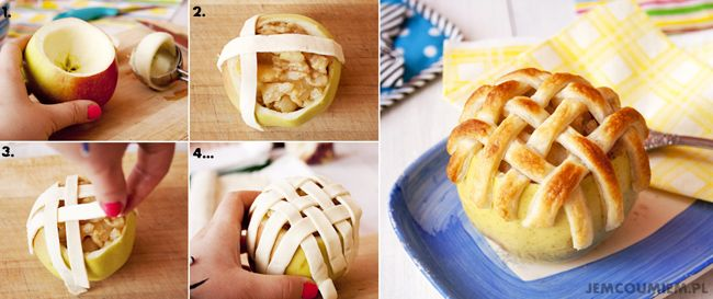Jabłka Pieczone | Jem Co Umiem