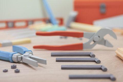REVERBERE , papercraft, pliers