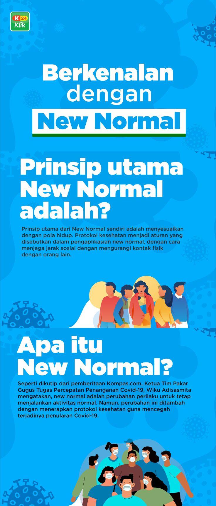 Kenalan yuk sama NEW NORMAL??? di 2020 Pendidikan