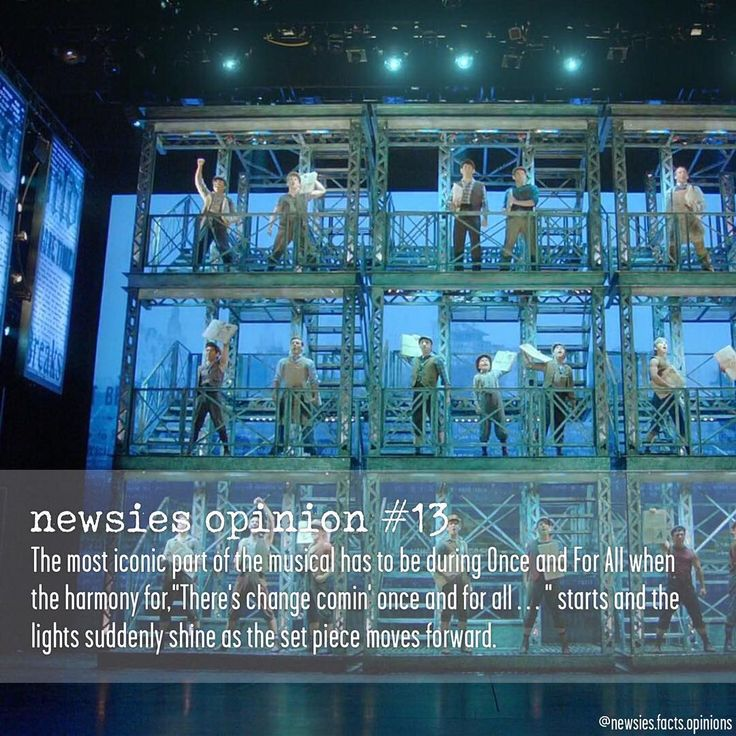 Follow @newsies.facts.opinions on Instagram