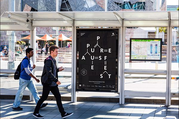 Pause Fest Outdoor Ad