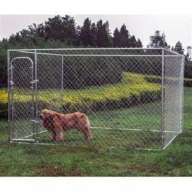Opentip.com: ALEKO DOGKENNEL10X10X6-AP Dog Kennel 10' x 10' x 6' DIY Box Kennel Chain Link Dog Pet System