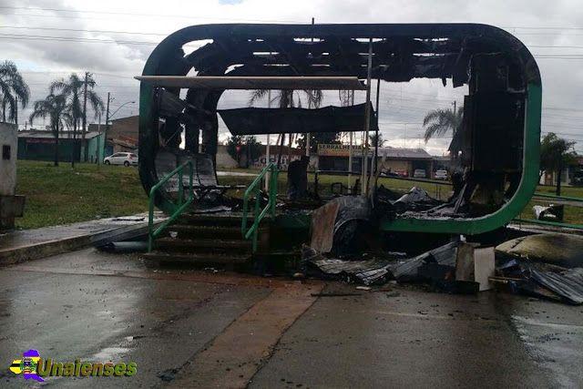UNAIENSES: SAMAMBAIA-DF - Posto da PM é incendiado na região ...