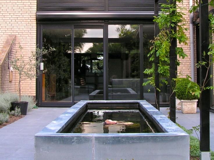 Raised pond  Garden design water features  Pinterest  Raised Pond