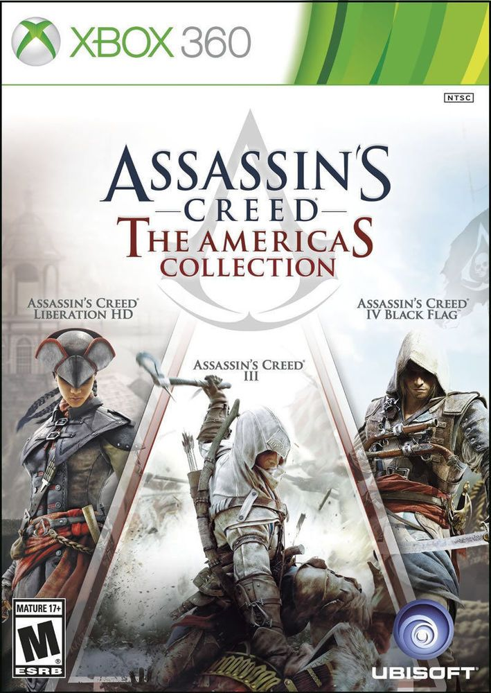 Assassin's Creed The Americas Collection  Xbox 360 Brand New #Ubisoft