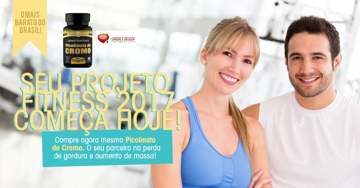 #ProjetoFitness Picolinato de Cromo Mais Barato do Brasil!  Tem #Descontos de Fim de Ano, venha conferir!  Picolinato de Cromo 280mg com 60 cápsulas http://www.maissaudeebeleza.com.br/p/376/picolinato-de-cromo-280mg-c60-capsulas?utm_source=facebook&utm_medium=link&utm_campaign=PreparaçãoPara2017&utm_content=post
