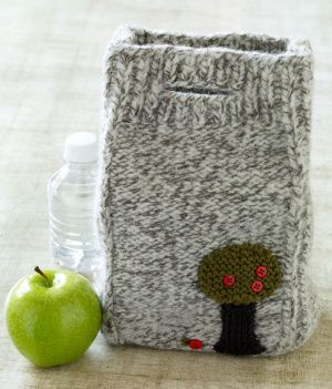 Felted Lunch BagFree Pattern, Lion Brand Yarn, Knits Felt, Felt Bags, Bags Pattern, Lunches Bags, Knits Pattern, Felt Lunches, Crafts