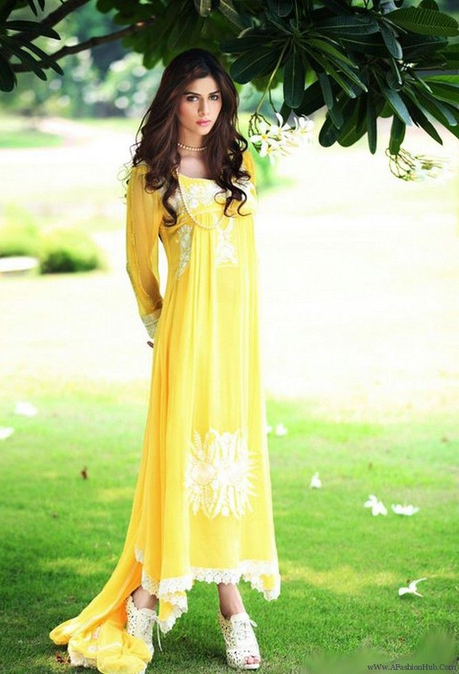 Pakistani Fashion Lite Dresses