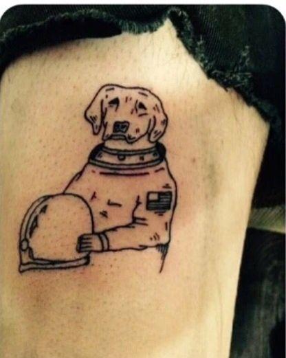 dog astronaut tattoo -#main