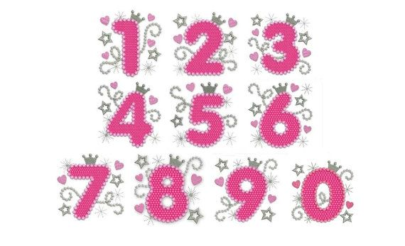 Hey, I found this really awesome Etsy listing at https://www.etsy.com/listing/175613857/happy-bithday-numbers-set-pink-glamour