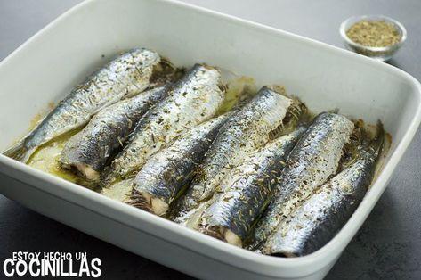 Cómo hacer sardinas al horno con hierbas provenzales. Receta fácil paso a paso. Aprende a realizar este plato de sardinas asadas la mar de sencillo.