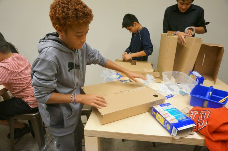 Read about the start of our Cardboard Robots and Web Design classes!
