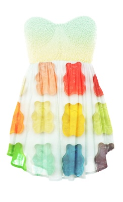 gummy bear dress YES please!