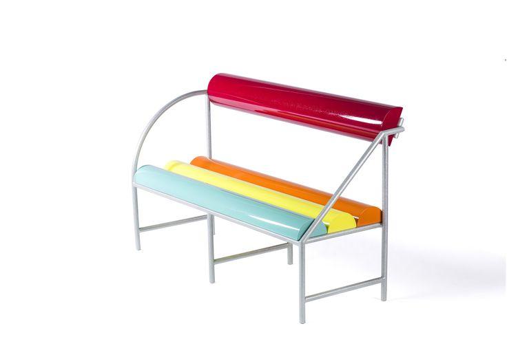 #Flash #bench, design #AntonioAricò for #altreforme, #Galactica collection, #interior #home #decor #homedecor #furniture #aluminium #woweffect #madeinItaly