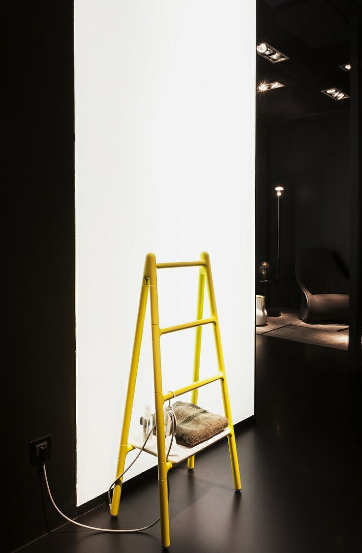 #Scaletta design Elisa Giovannoni #Tubesradiatori #Radiator #Interiordesign #Design • stand Salone Internazionale del #Bagno - Salone Internazionale del Mobile •