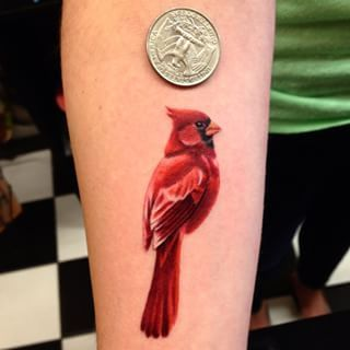 about Cardinal Tattoos on Pinterest