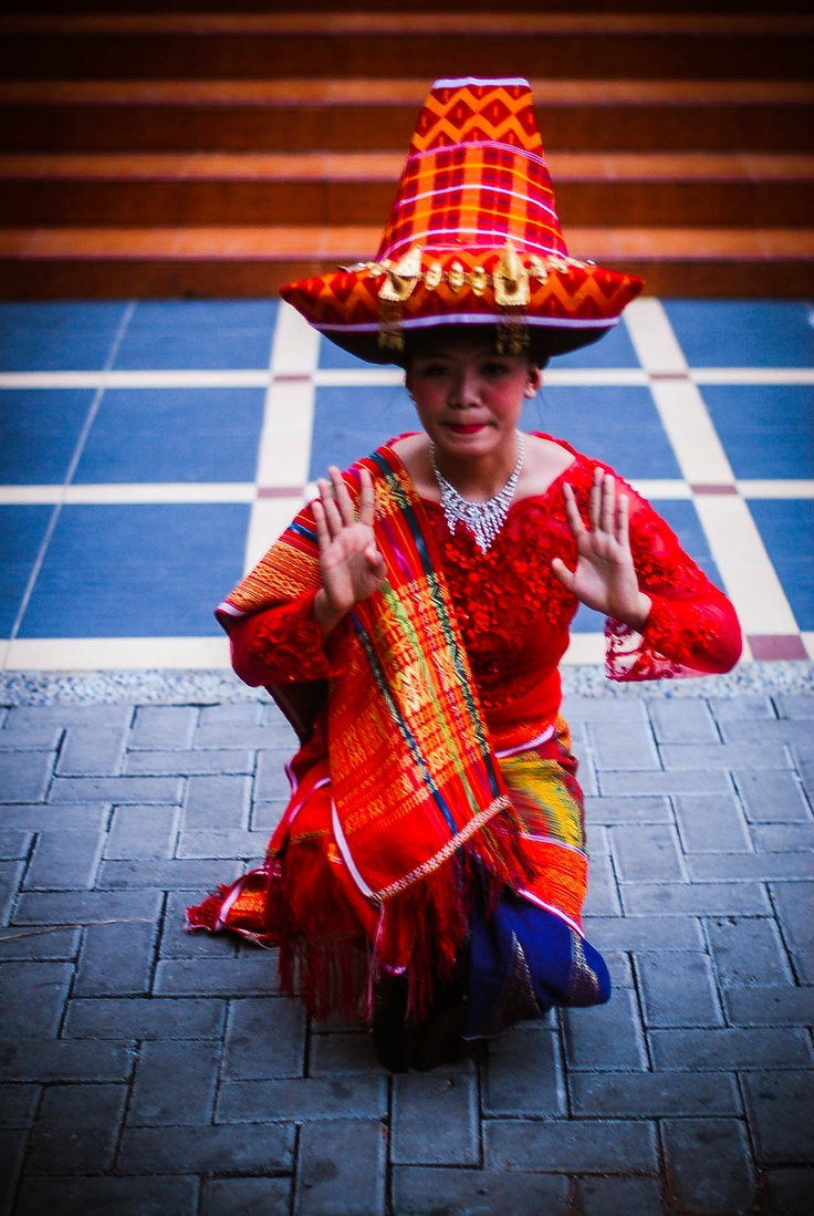 Traditional dances from batak karo, North Sumatra