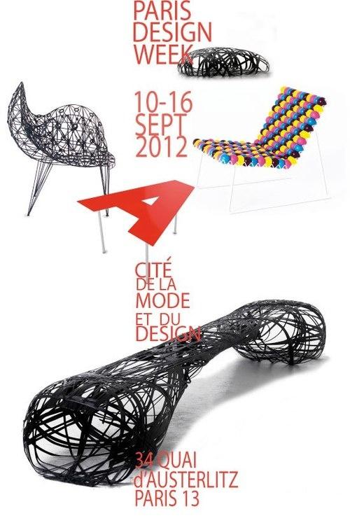 Black Dove Chair by Baltasar Portillo from El Salvador @ParisDesignWeek #PDW12