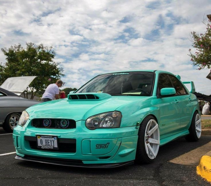 #Subaru #WRX_Sti #Stance #Modified #Slammed