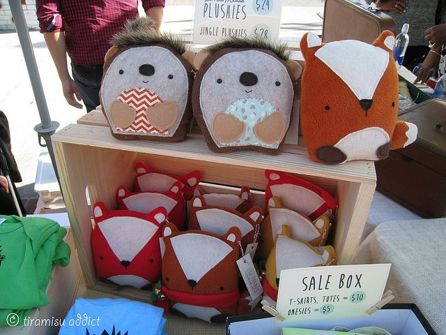 Craft Show Stuffed Animal Crate Display