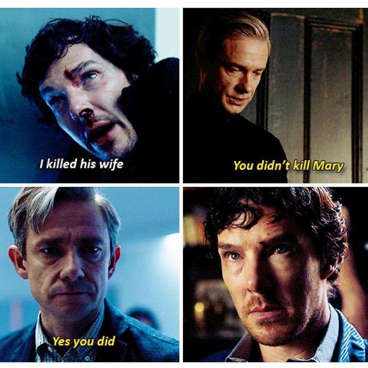 """Sherlock S04 EP02 """"The Lying Detective"""". Season 4.  Why the fuck you lying  Why you always lying fucking Jawwwwwwnnnnnn"""