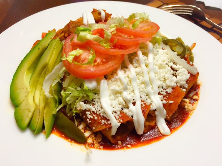 The gallery for --> Enchiladas Rojas Con Papas Y Zanahorias