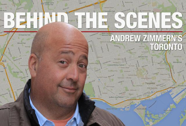 Andrew Zimmern's Toronto behind the scenes! #Canada #food