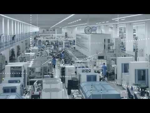 Industrie 4.0: Wenn das Werkstück die Produktion steuert - YouTube