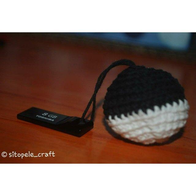 Flashdisk chain crochet