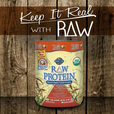 This just set a new benchmark for protein powder flavour! It's incredible!  Introducing Raw Protein's amazing new flavour Vanilla Chai!  #GardenofLife #FlushFitness #Protein #RawProtein #Nutrition
