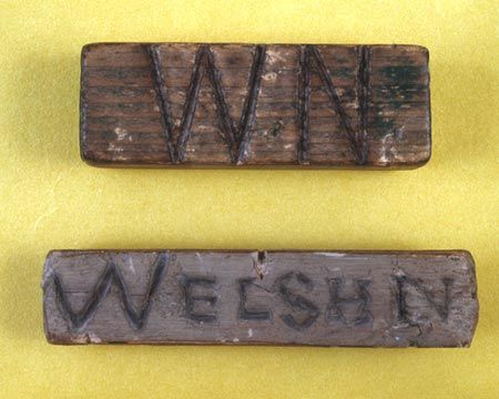 Welsh not - In order to improve pupils' knowledge of the English language, the Welsh education system of the late 19th century employed the 'Welsh Not' or 'Welsh Stick' as a method of discouraging children from speaking in their native tongue. This small piece of wood was given in turn to individuals overheard talking Welsh, and whoever was wearing it by the end of the week was often severely punished.