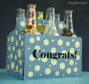 Soda bottles with candy and money - Perfect!  - 11 DIY Graduation Gifts That Will Make You A Superstar